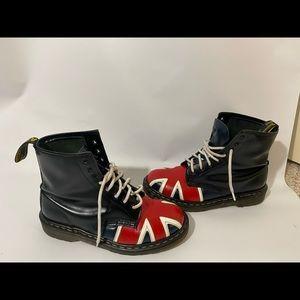 VTG Dr Martens Union Jack 1460 Boots Made England